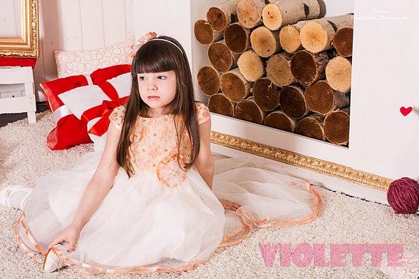Детские платья со шлейфом