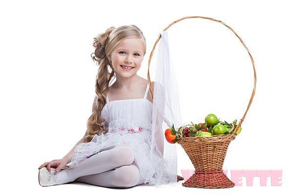 Детские шифоновые платья