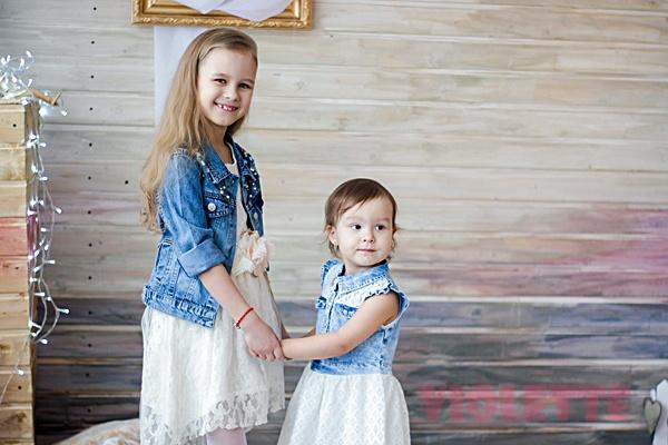 Детские платья из гипюра