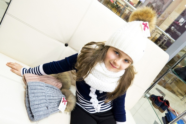 Детские зимние шапки