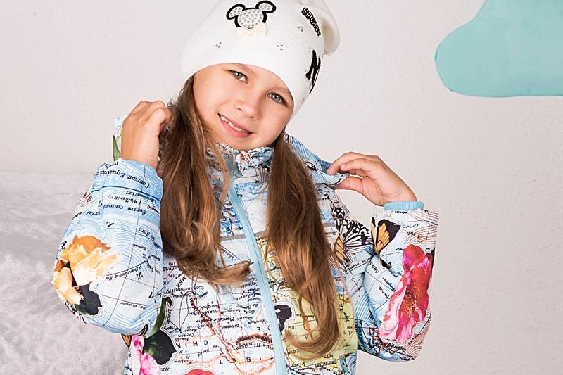 Куртки для девочек осень-весна
